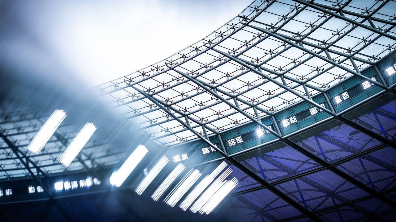 Das Dach im Olympiastadion