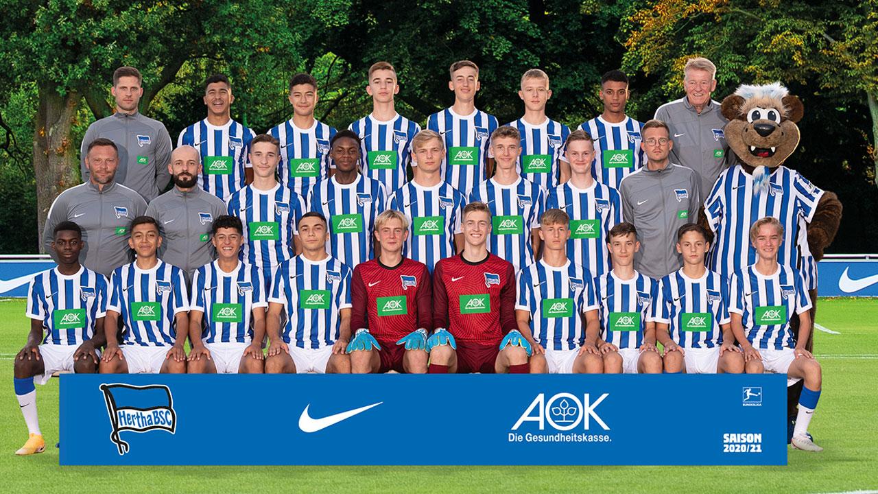 Teamfoto der U16