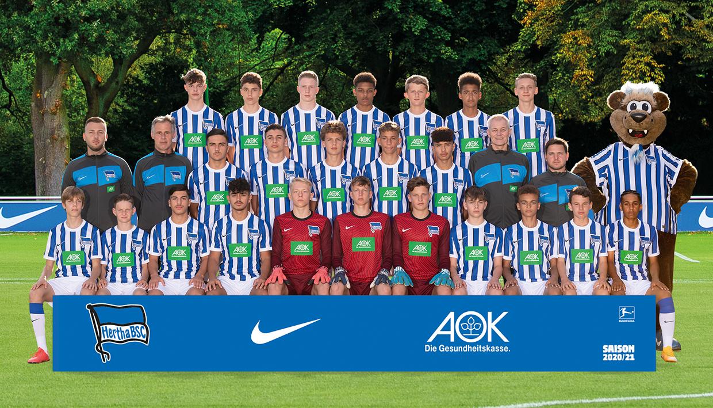 Teamfoto der U15