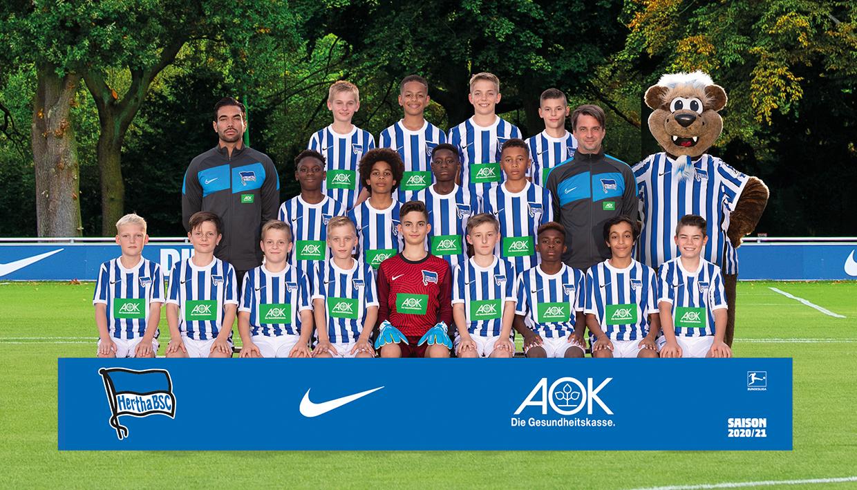 Teamfoto der U12