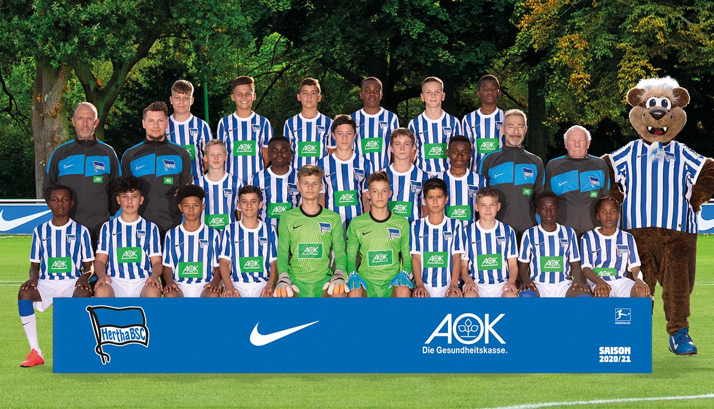 Teamfoto der U13