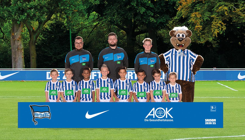 Teamfoto der U9
