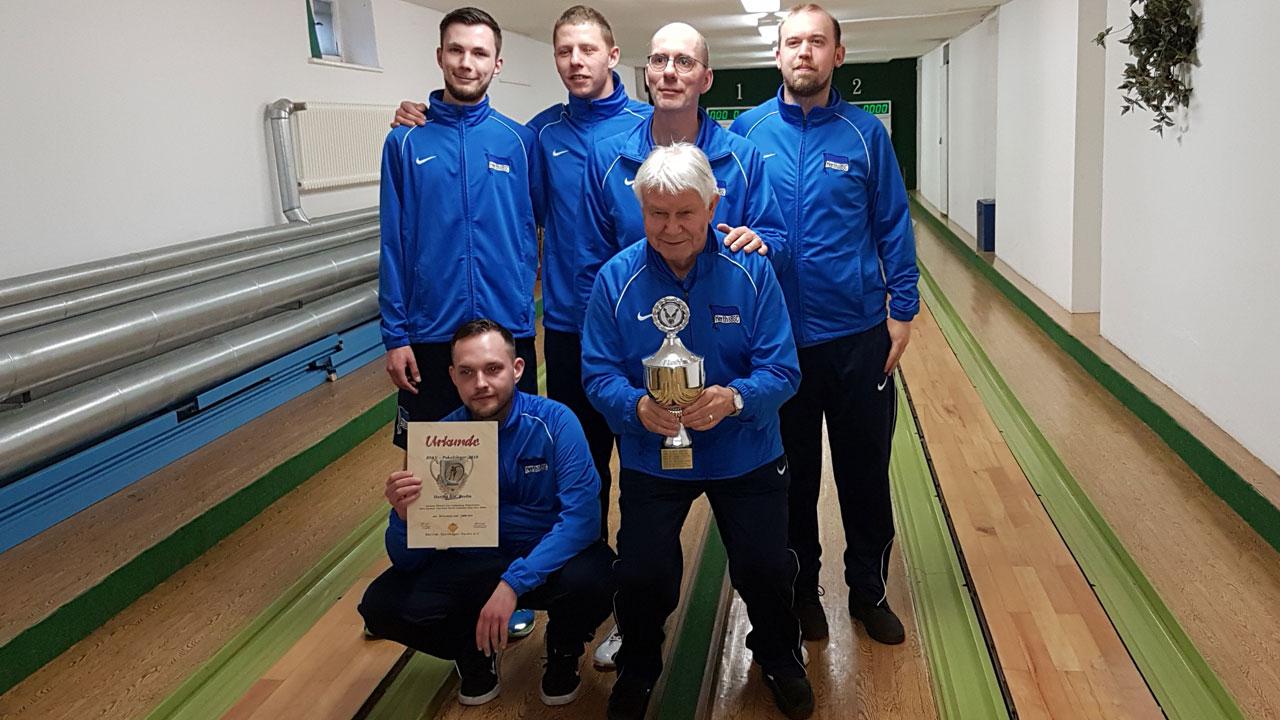 Herthas Kegler sind BSKV-Pokalsieger!