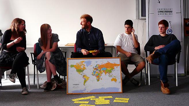 Lernzentrum@Hertha BSC zum Thema 'Nahrung'
