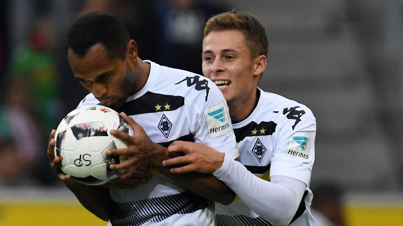 Kieck ma, wer da kommt: Borussia Mönchengladbach