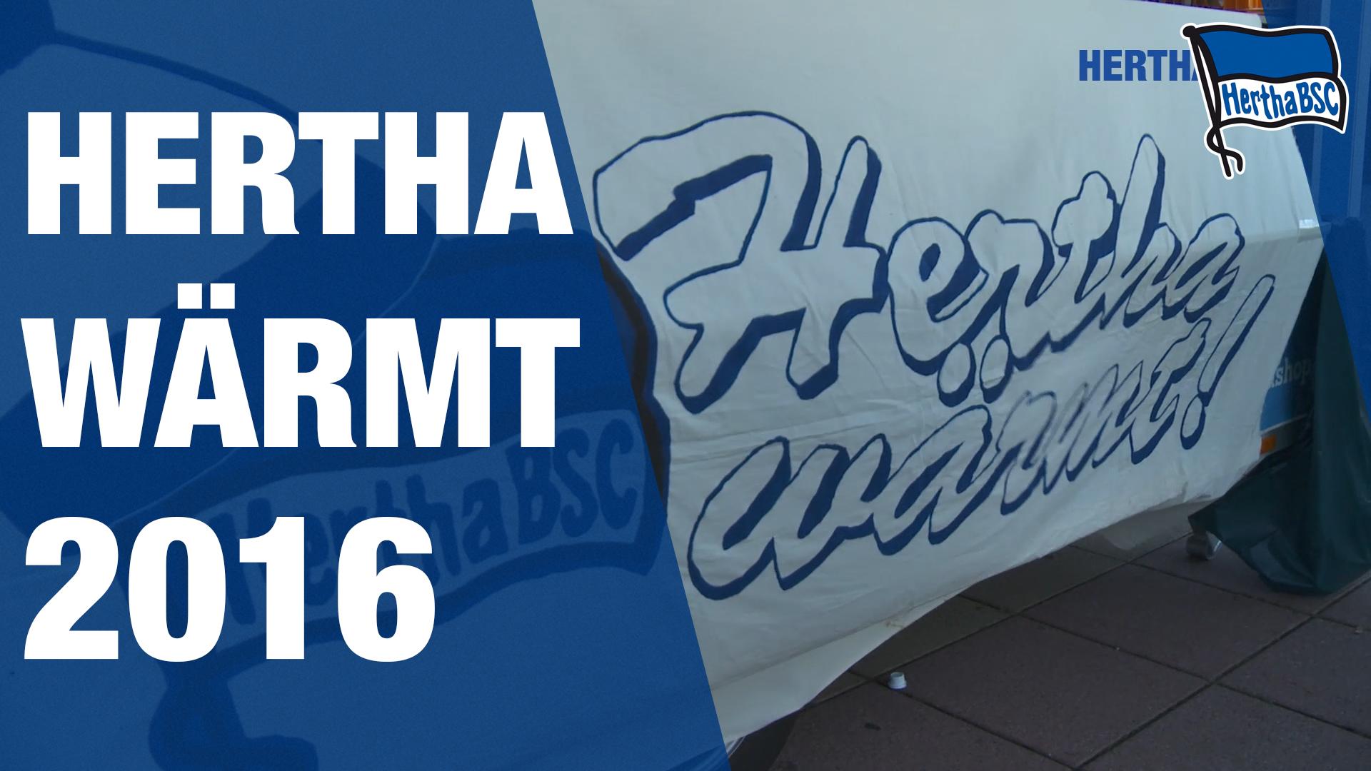 Hertha (er)wärmt auch 2016 wieder Herzen