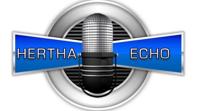 Am Donnerstag geht das Hertha-Echo wieder auf Sendung