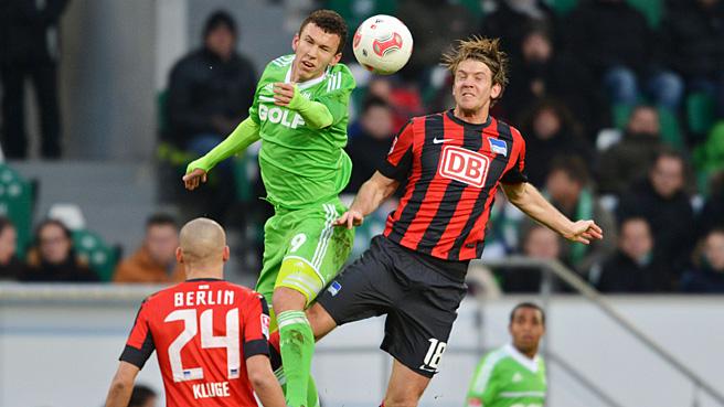 Hertha unterliegt in Wolfsburg