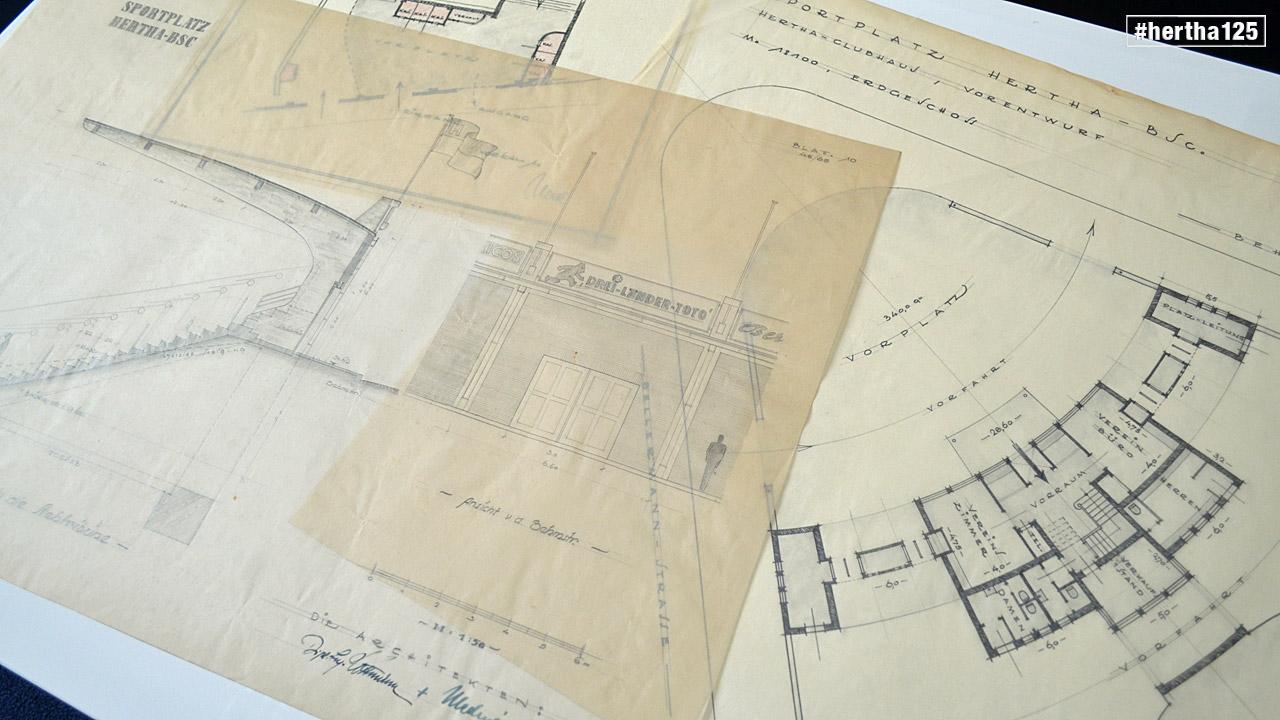 Ein Blick ins Archiv: Stadionbau