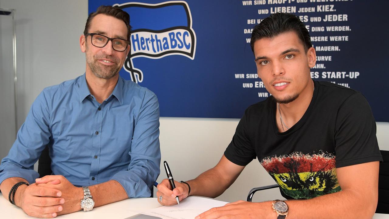 Hertha BSC nimmt Rekik unter Vertrag