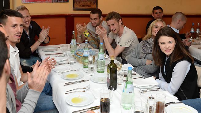 Aufstiegsfeier im Kreise der Hertha-Familie