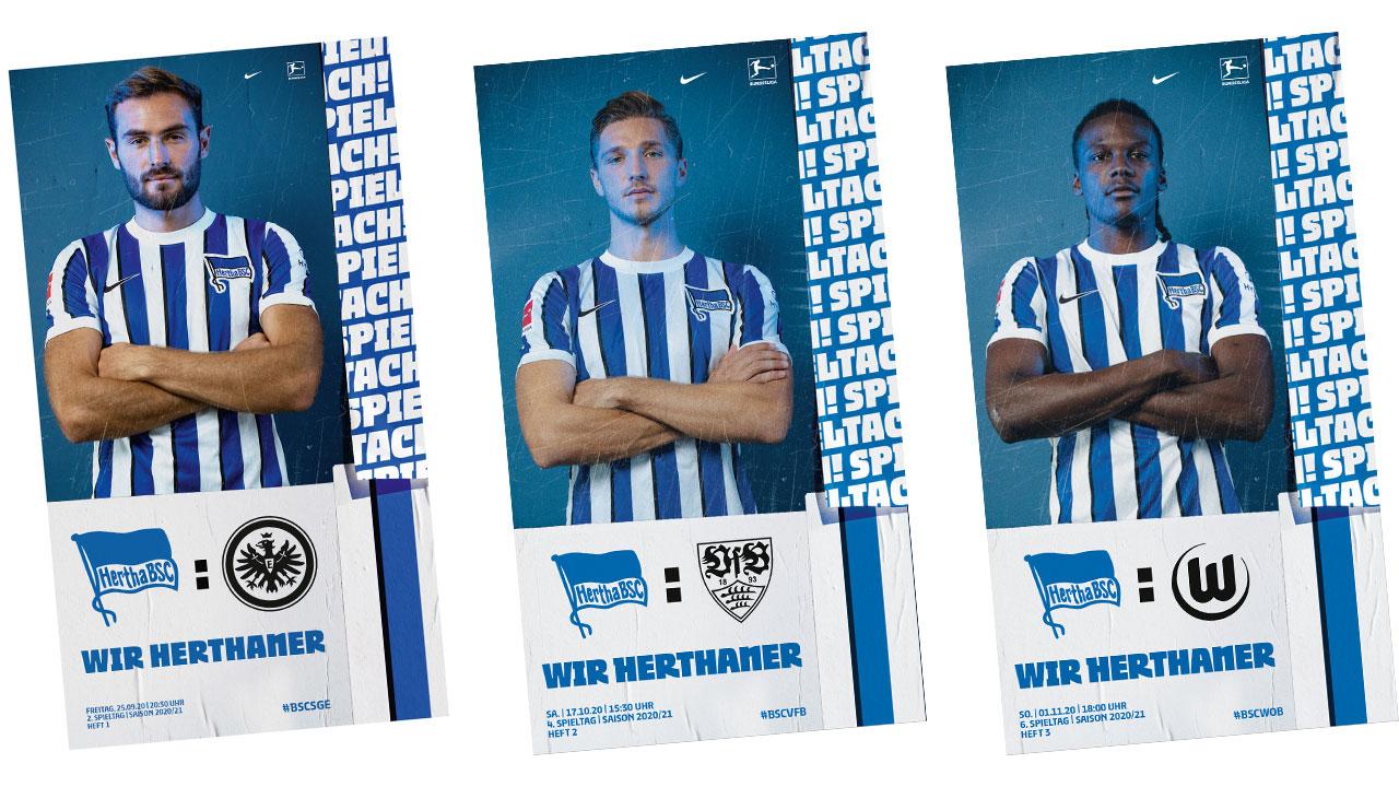 Cover der Wir Herthaner-Flyer