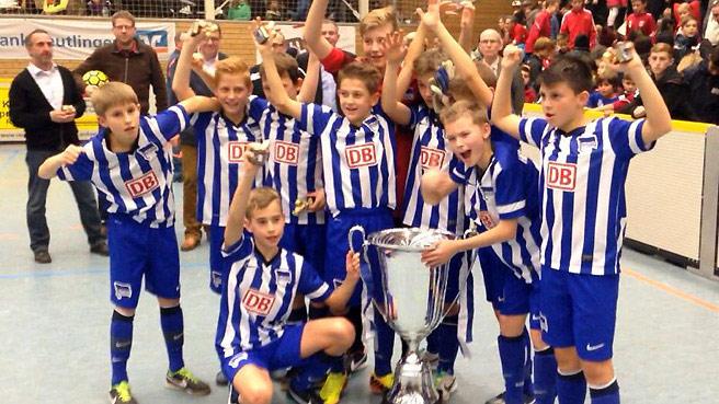 Herthas U12 holt Turniersieg in Reutlingen