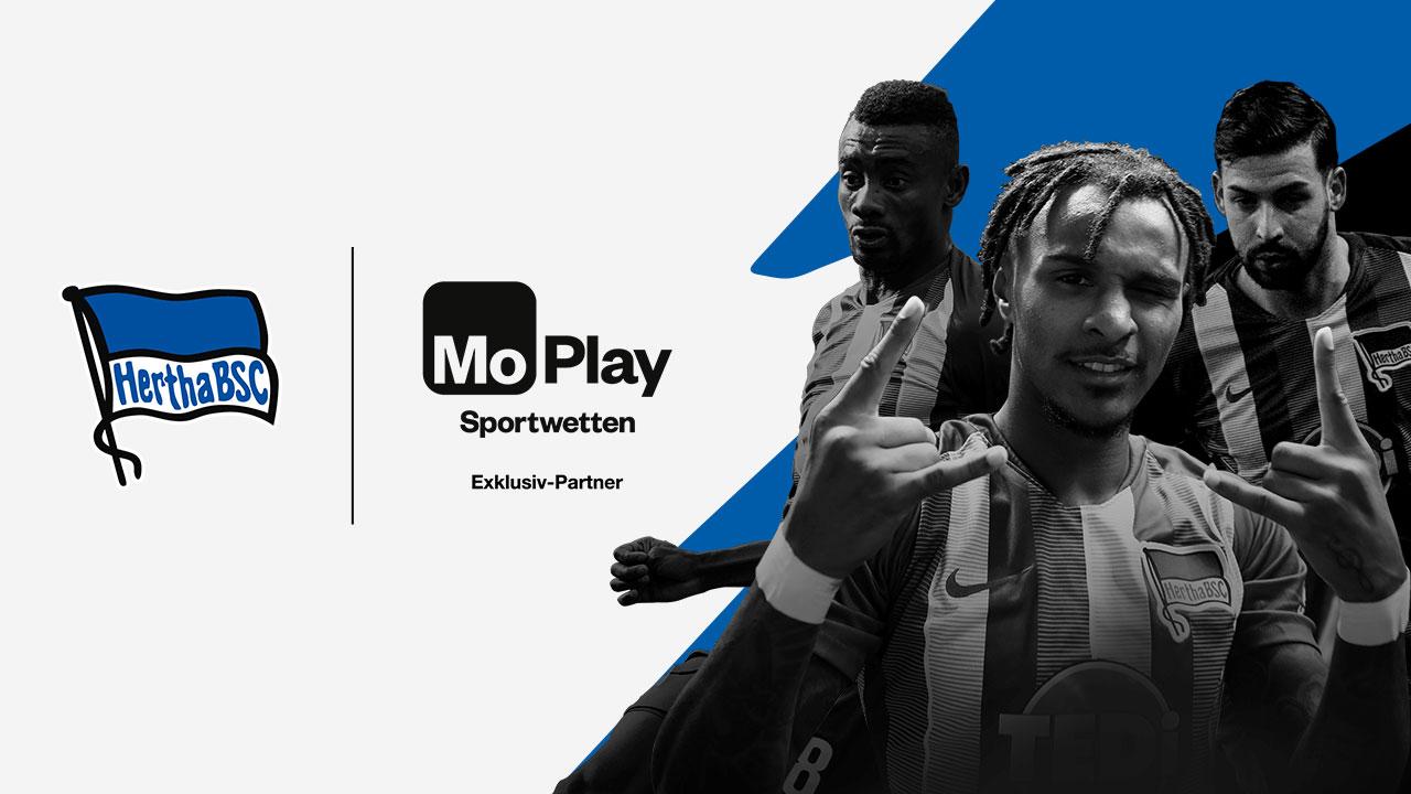 MoPlay ist neuer Sportwetten-Partner von Hertha BSC