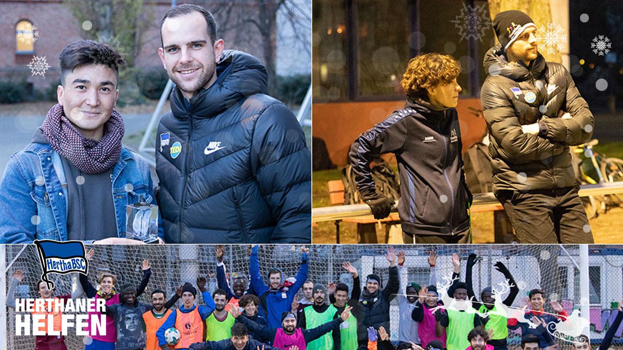 Herthaner helfen: Willkommen im Fußball