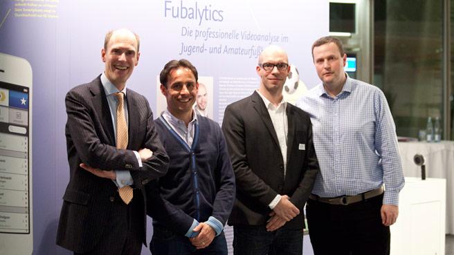 Hertha BSC und das Startup Fubalytics bei der IHK