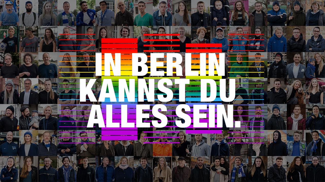 In Berlin kannst du alles sein.