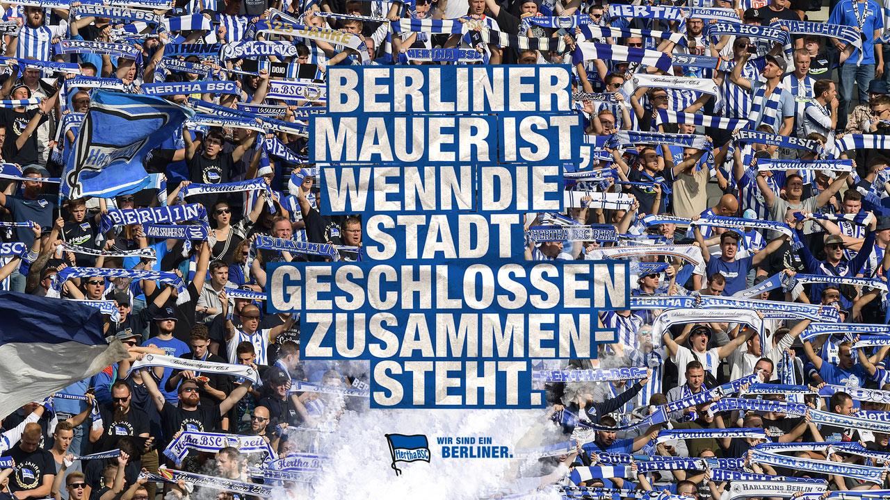 Wir sind ein Berliner