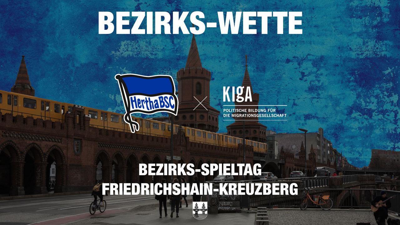 Bezirks-Wette: Mit euren Tickets für Friedrichshain-Kreuzberg!