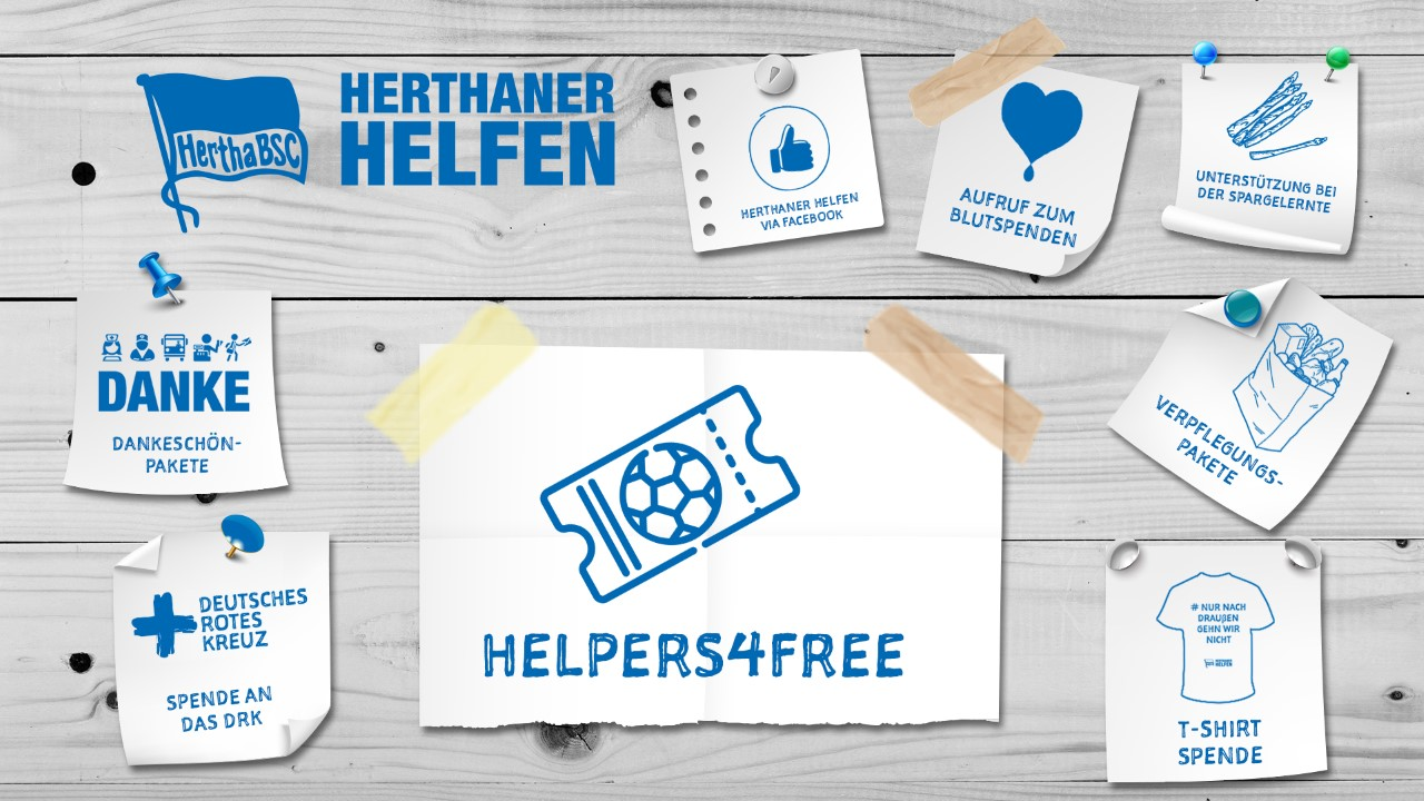 #Helpers4free: 5.000 Tickets!