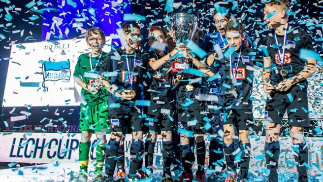 Herthas U12 gewinnt den Lech-Cup in Posen