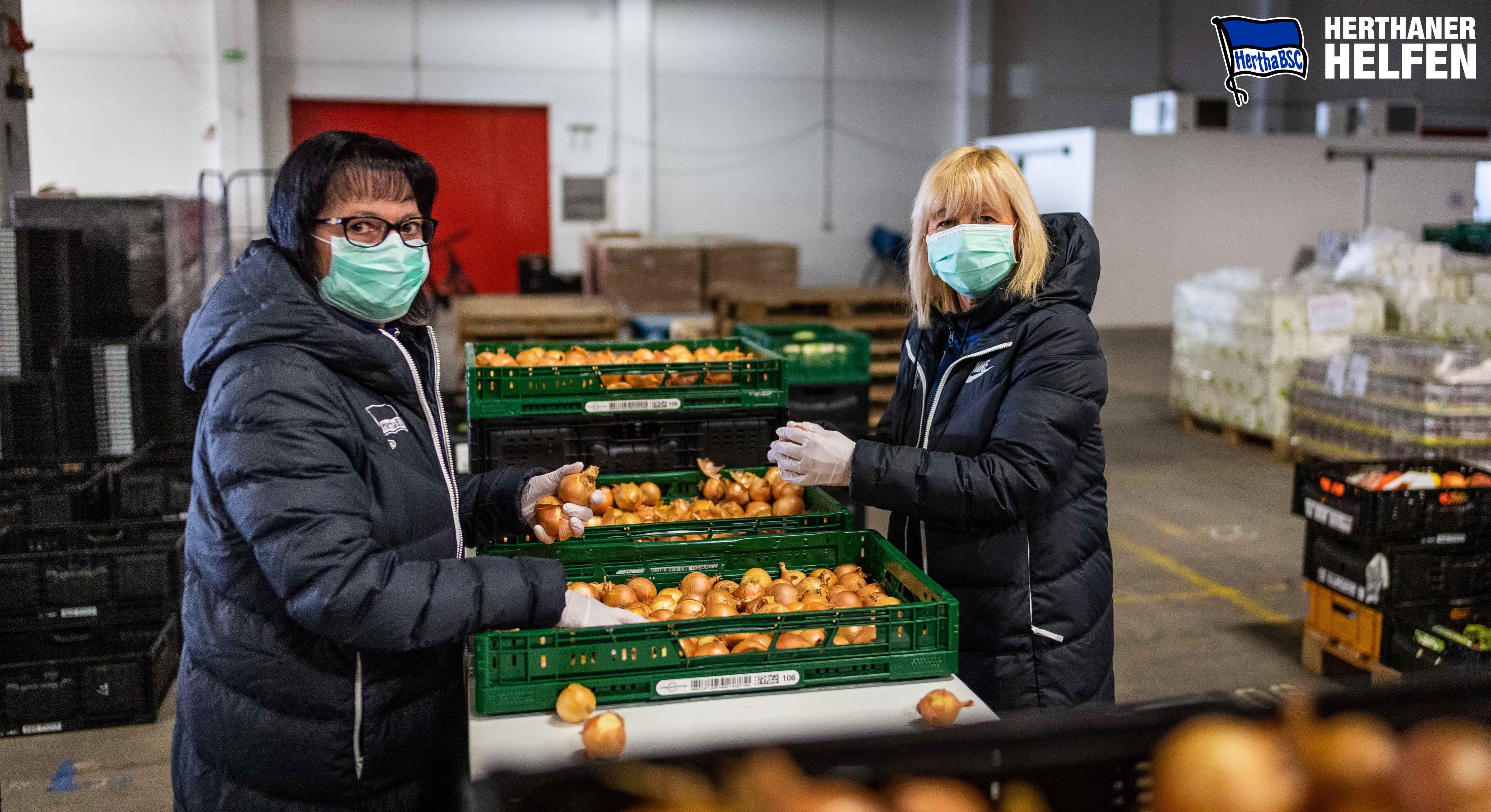 Lebensmittelsortierung statt Tickets und Mails