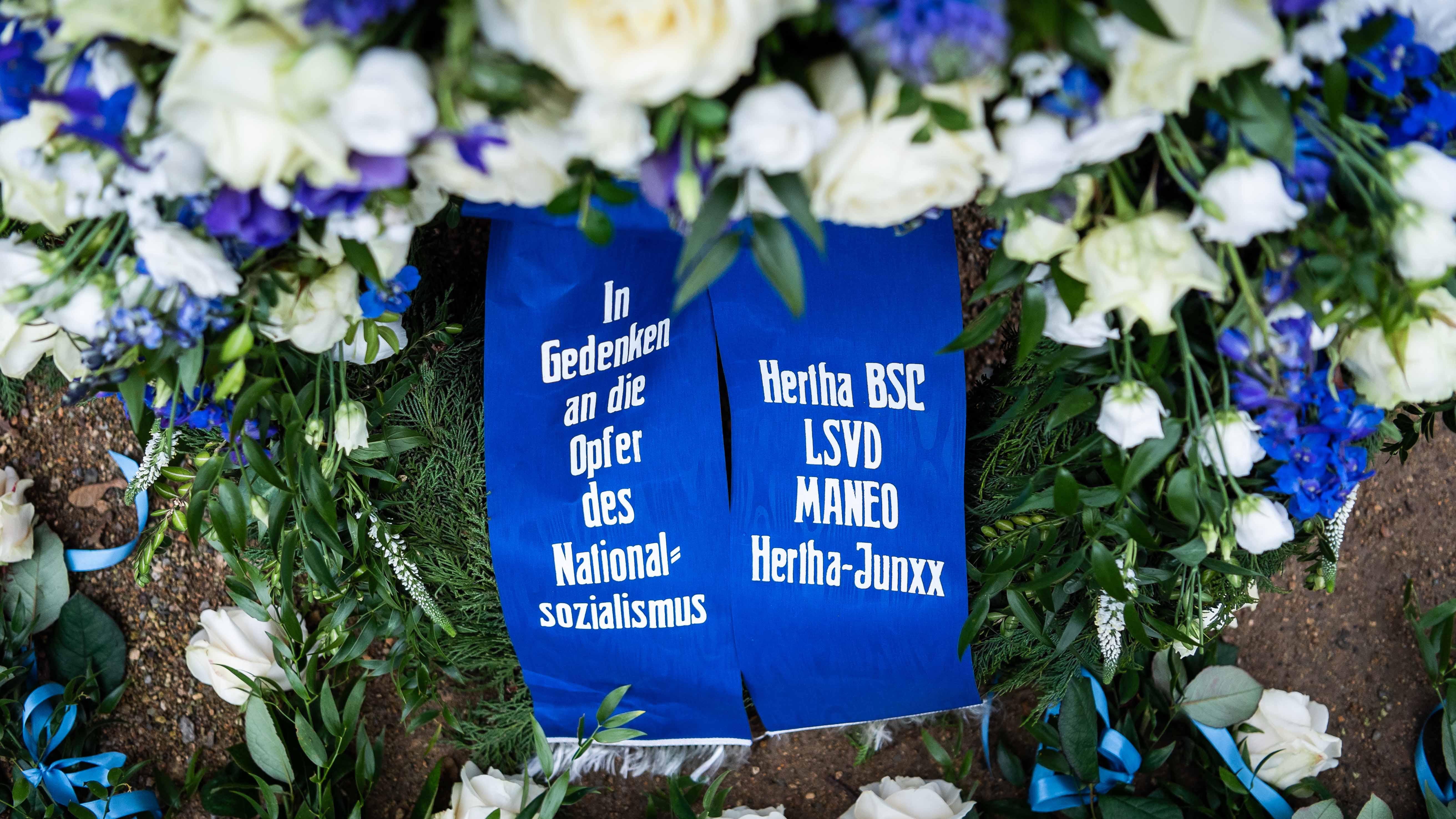 '!Nie wieder': Hertha BSC gedenkt Opfern des Nationalsozialismus