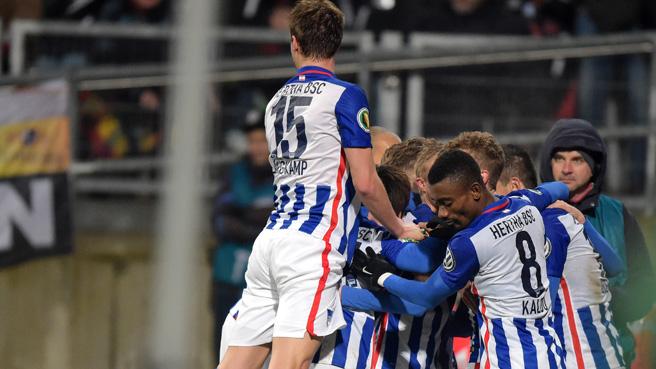 FCN-Pokal-Jubel