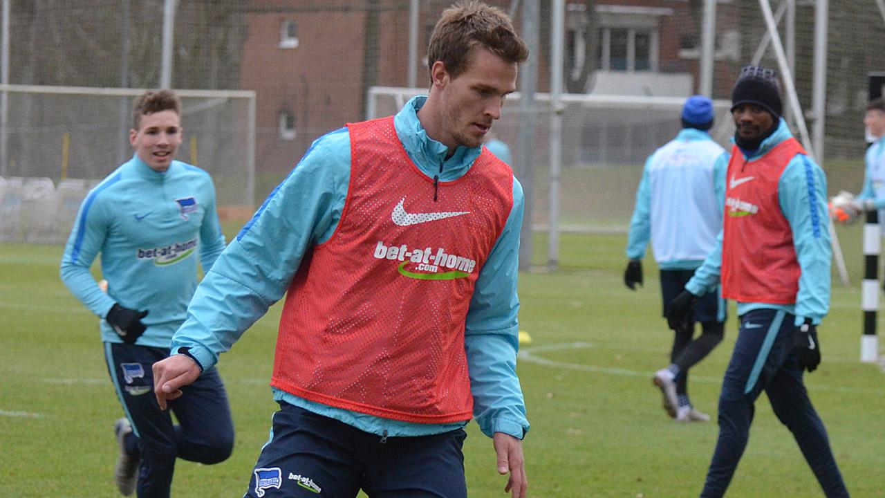 Langkamp wieder im Teamtraining