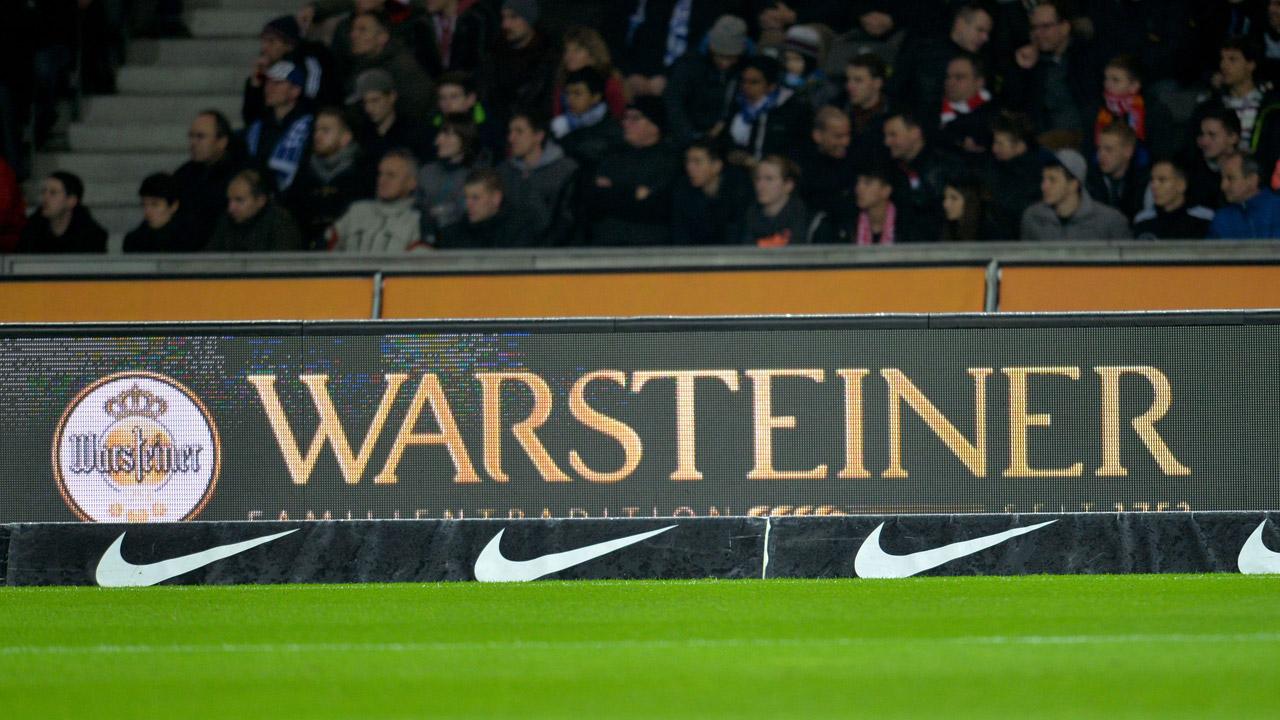 WARSTEINER dankt: Freibieraktion gegen Darmstadt!