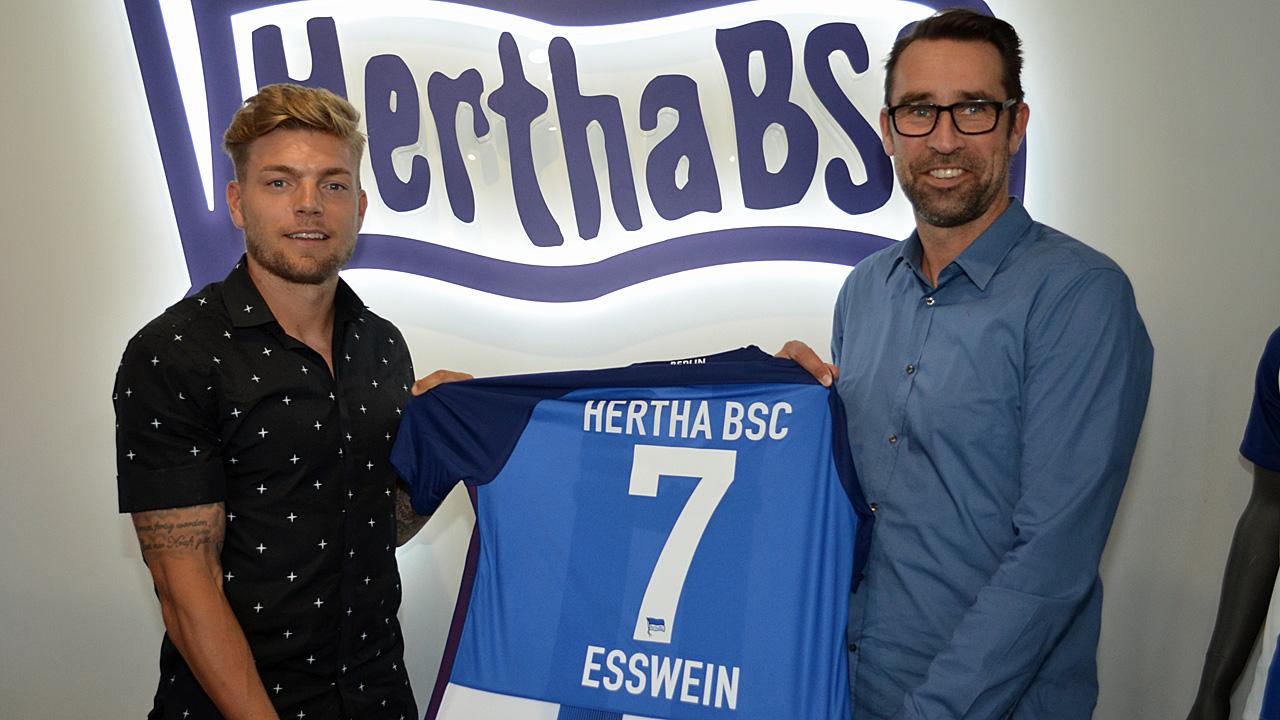 Hertha BSC verpflichtet Alexander Esswein