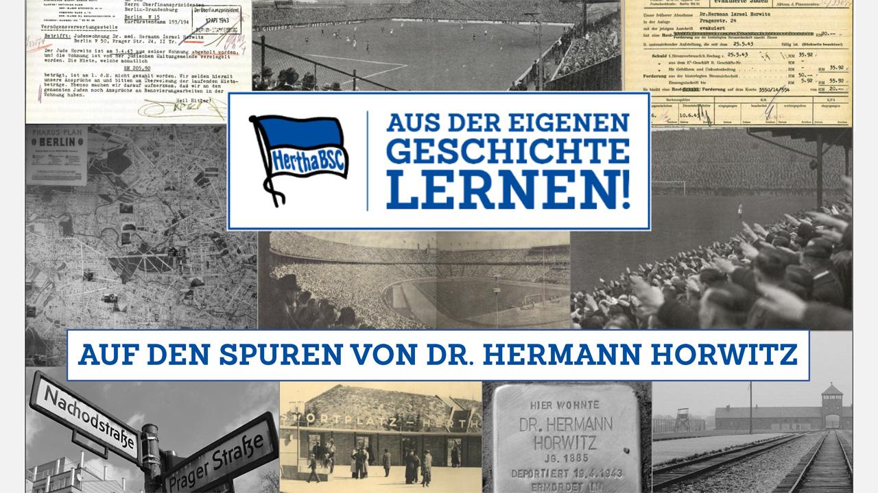 Auf den Spuren von Hermann Horwitz - Fans schreiben Geschichte