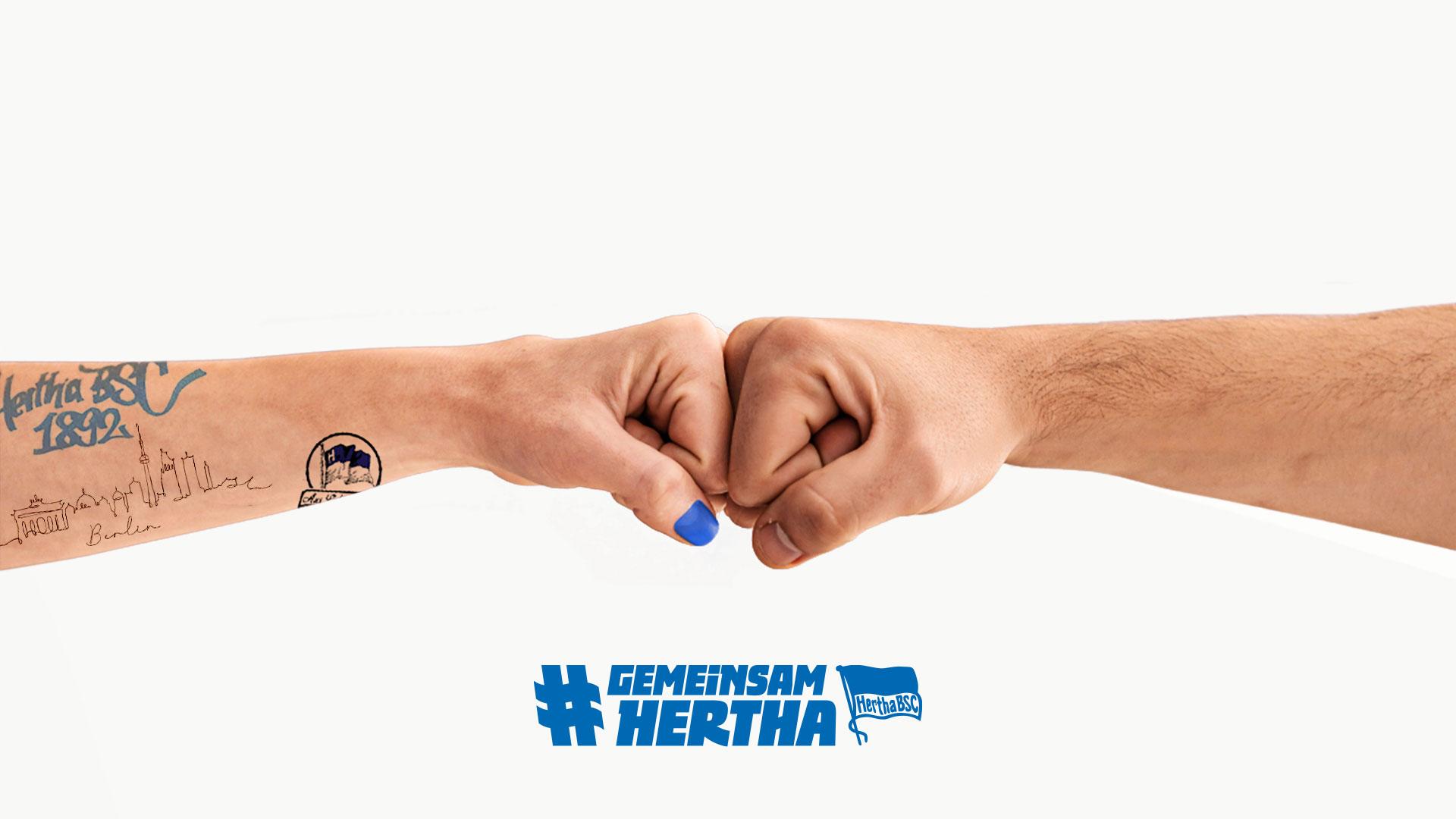 #GemeinsamHertha