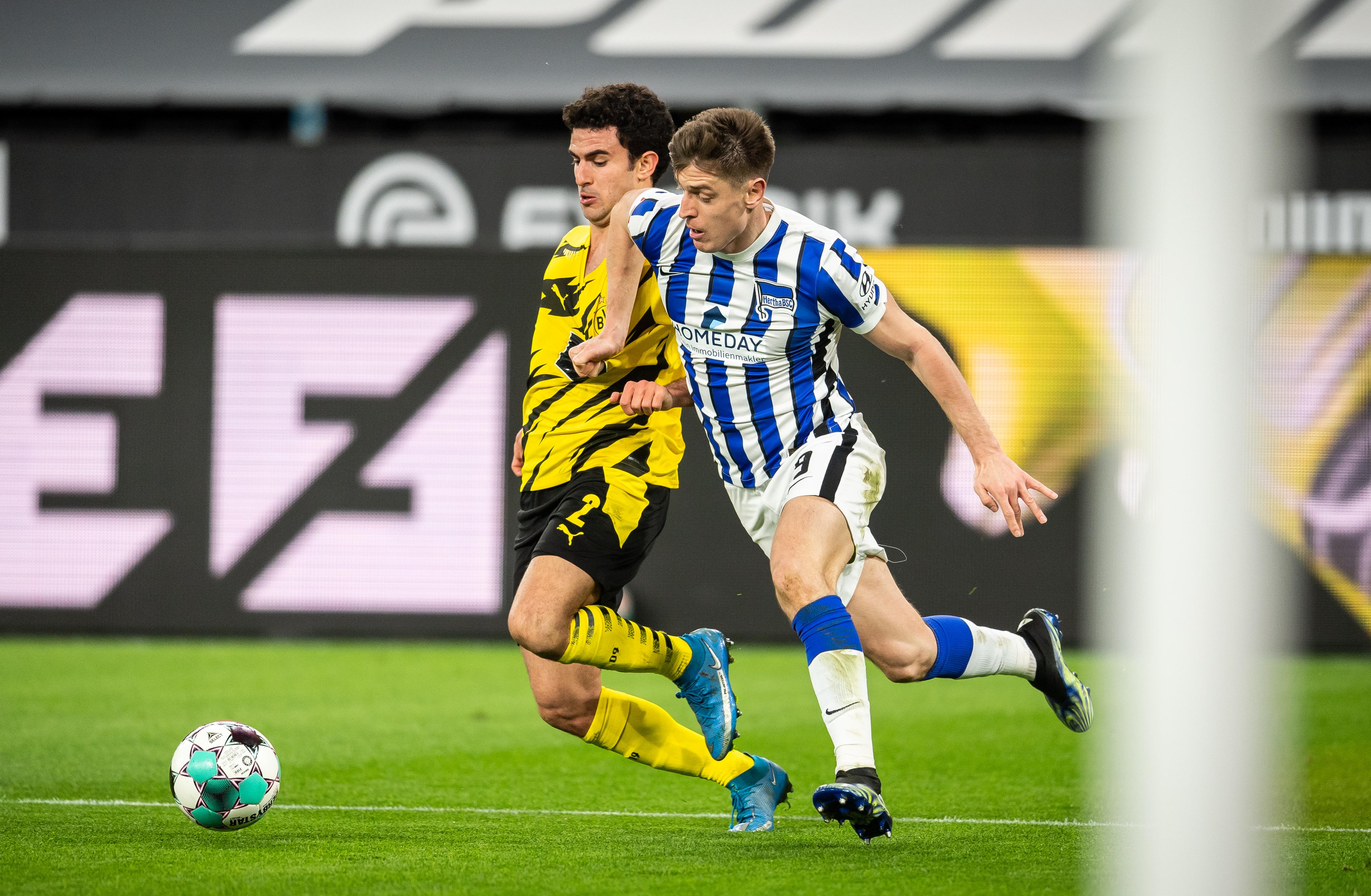 Duelos cerrados en el partido contra el BVB