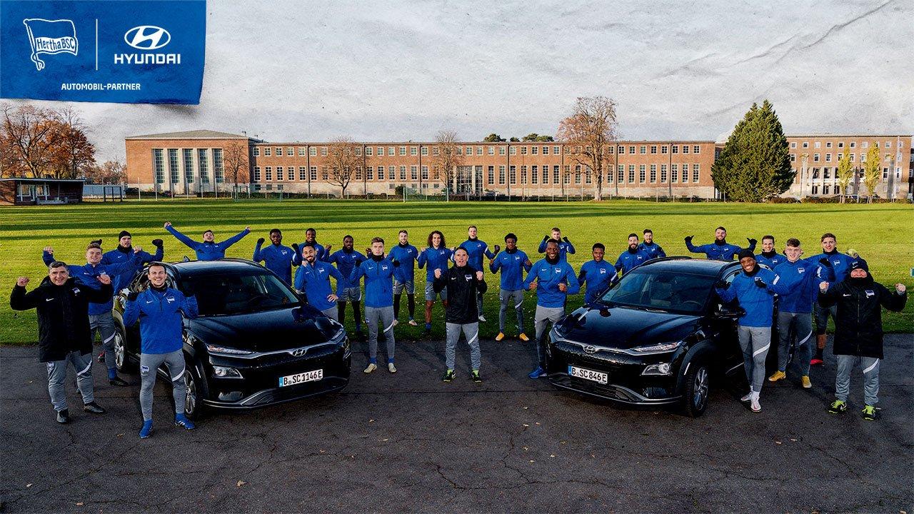 Hertha BSC und Hyundai verlängern Partnerschaft