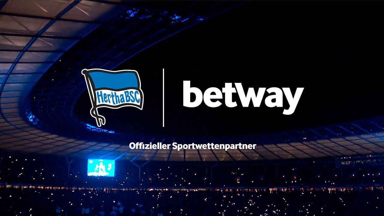 Betway wird offizieller Sportwetten-Partner von Hertha BSC