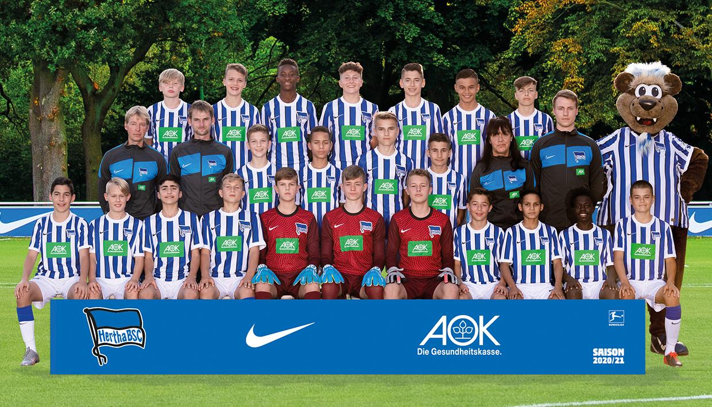 Teamfoto der U14
