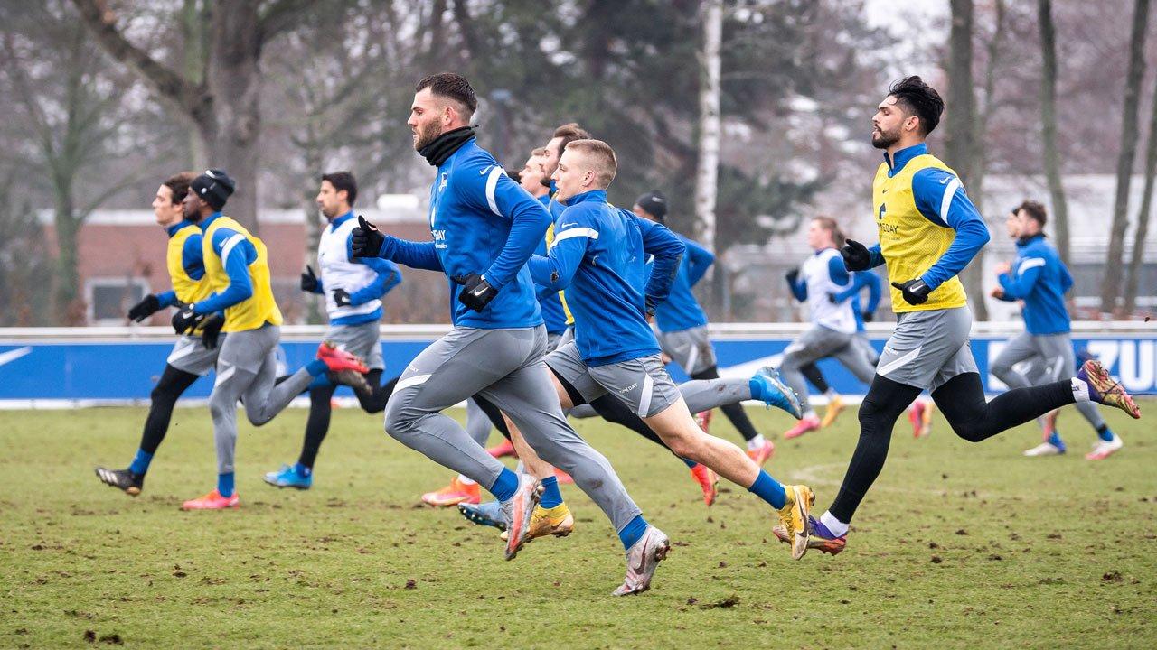 Impressionen aus dem Training vor Leipzig
