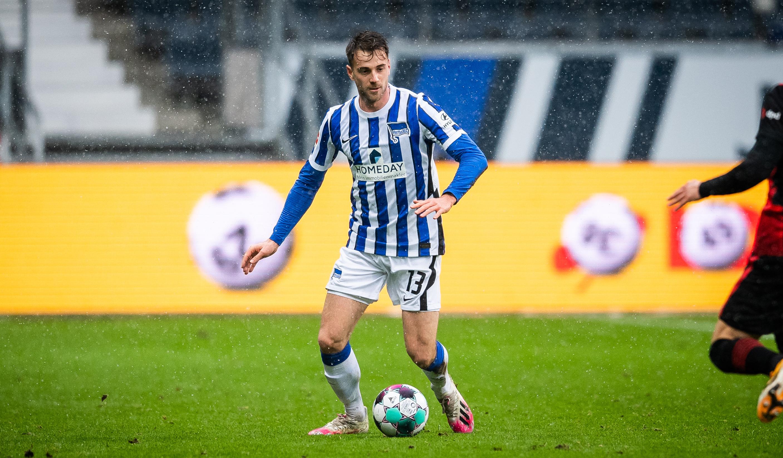 Klünter beim Spiel gegen Eintracht Frankfurt