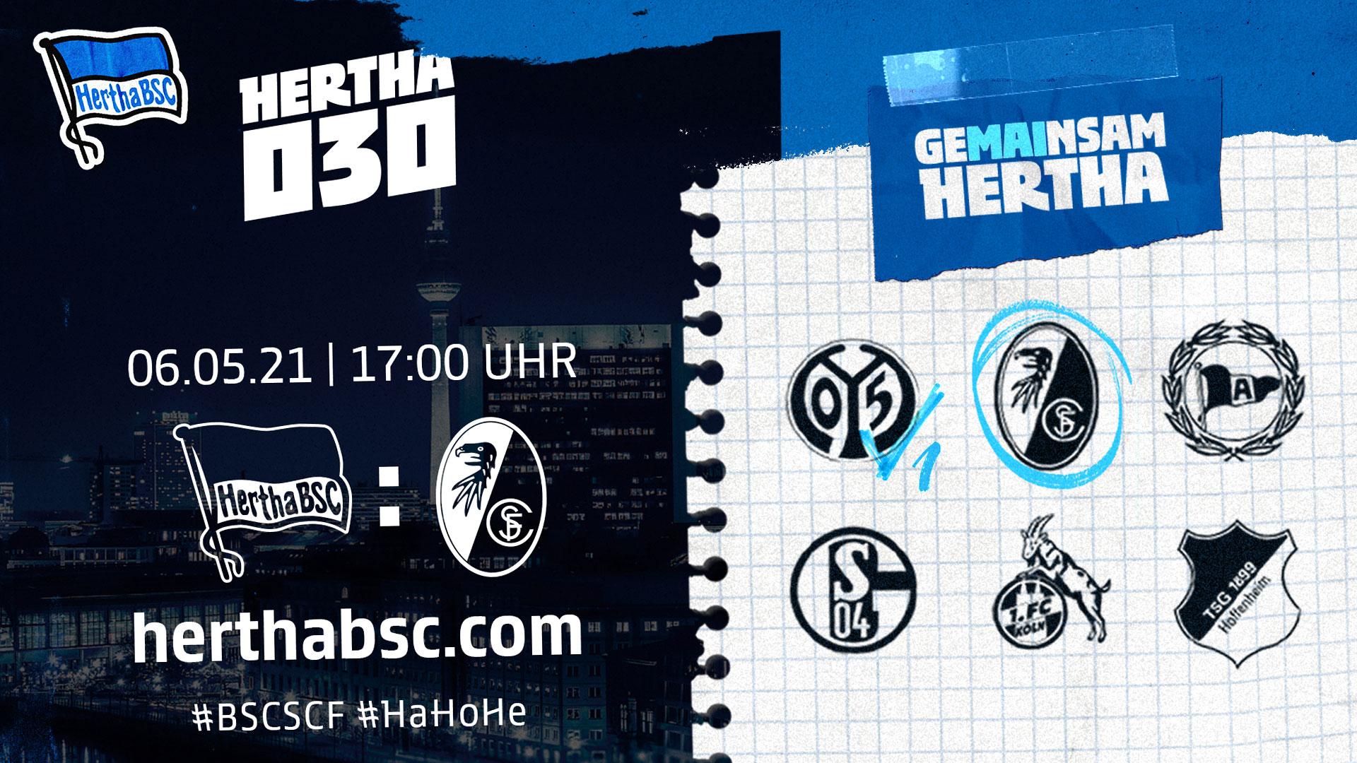 Hertha030 gegen Freiburg
