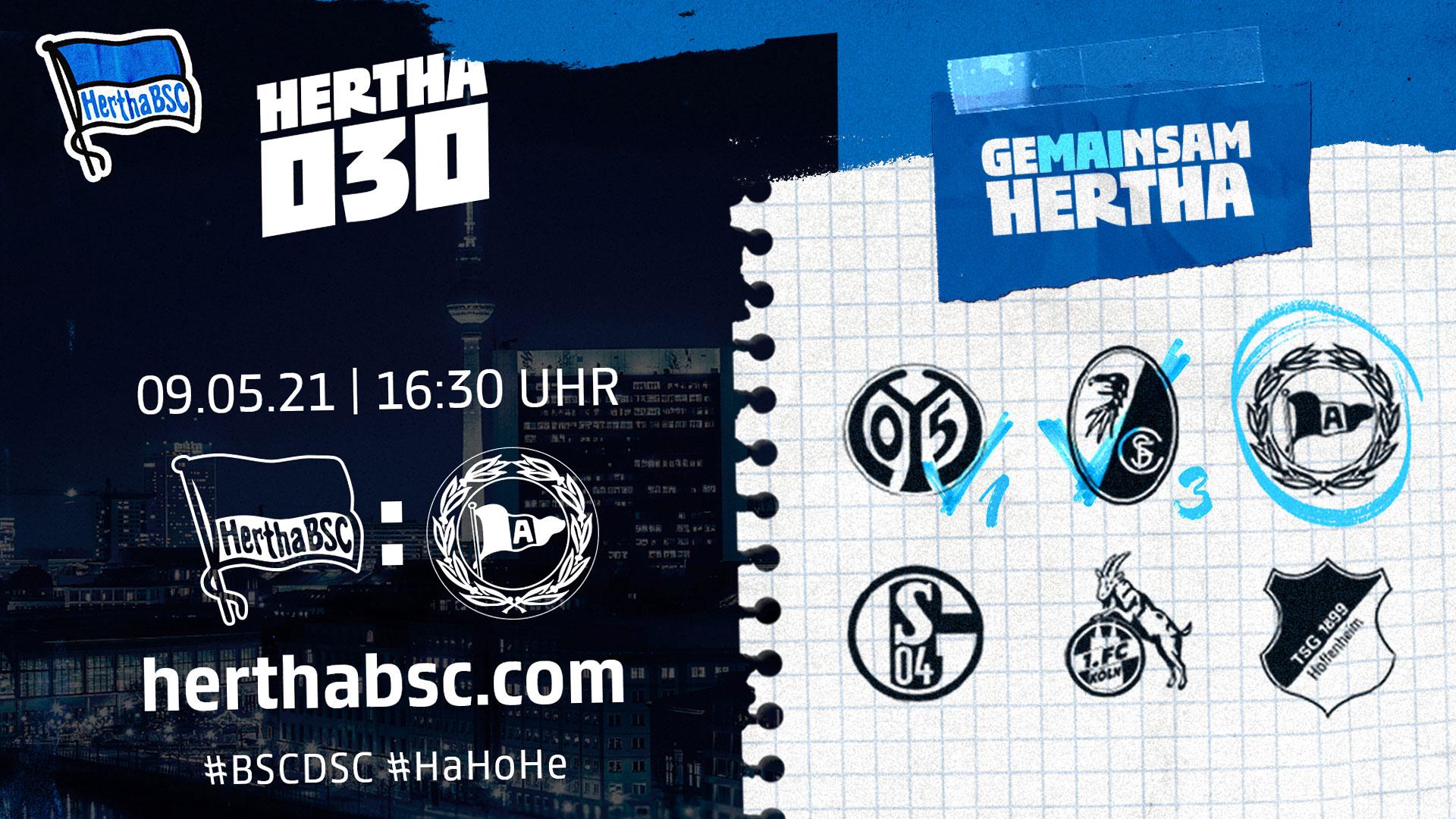 Hertha030 gegen Bielefeld