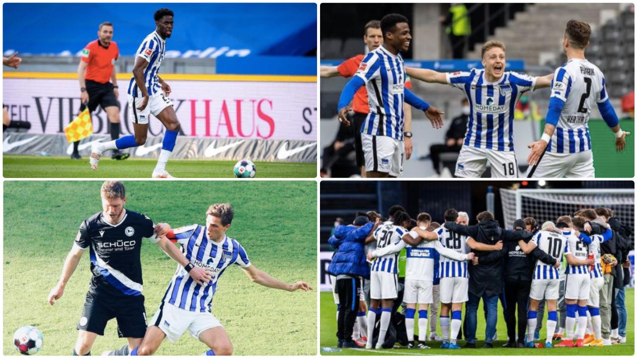 Collage von den Spielen gegen Freiburg und Bielefeld