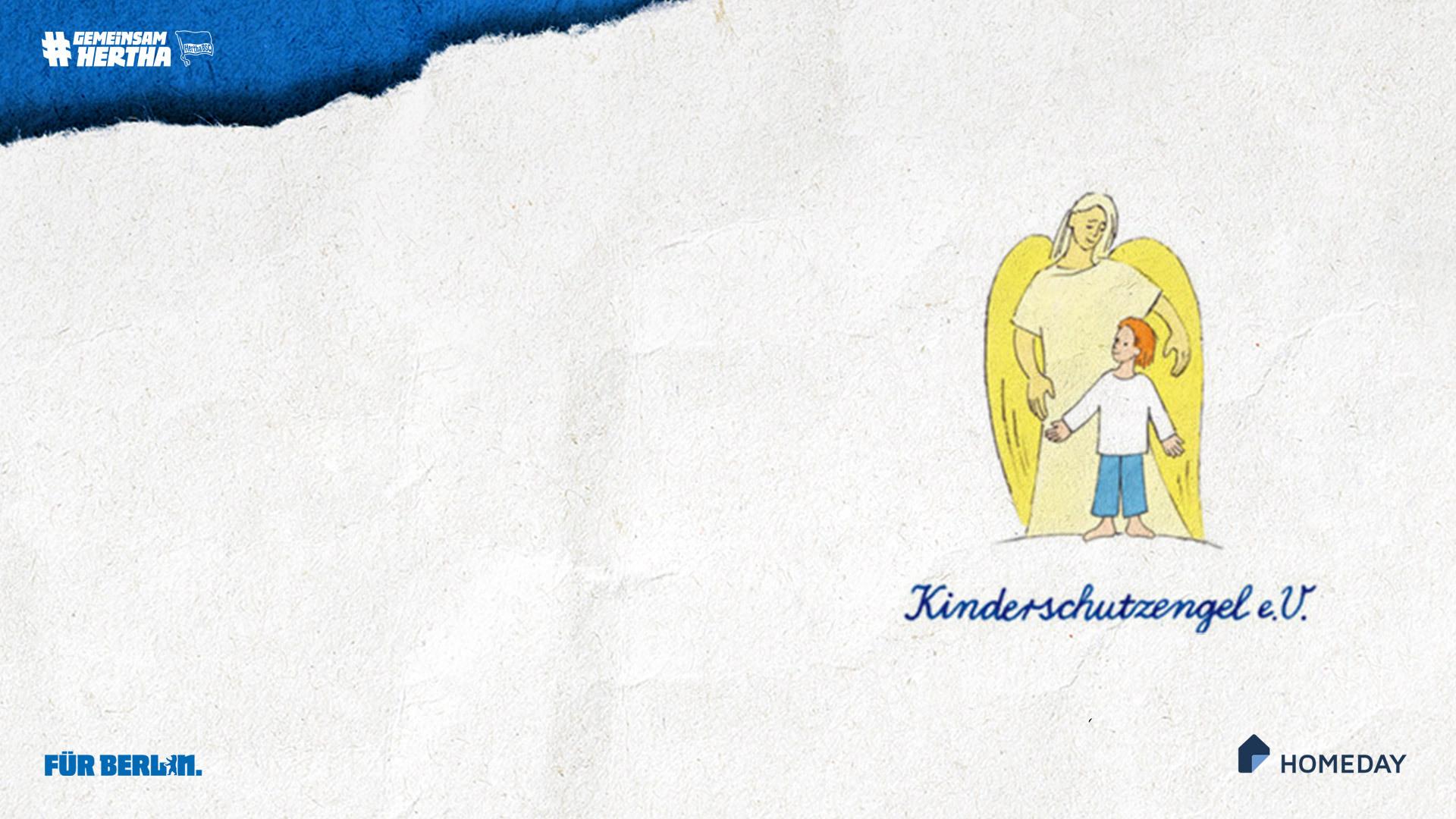 Das Logo von Kinderschutzengel e.V.