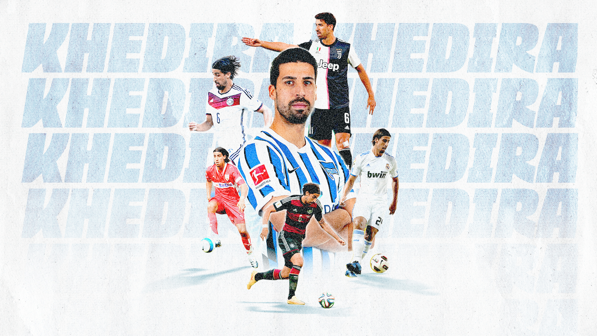 Thank you graphic to Sami Khedira on his career.