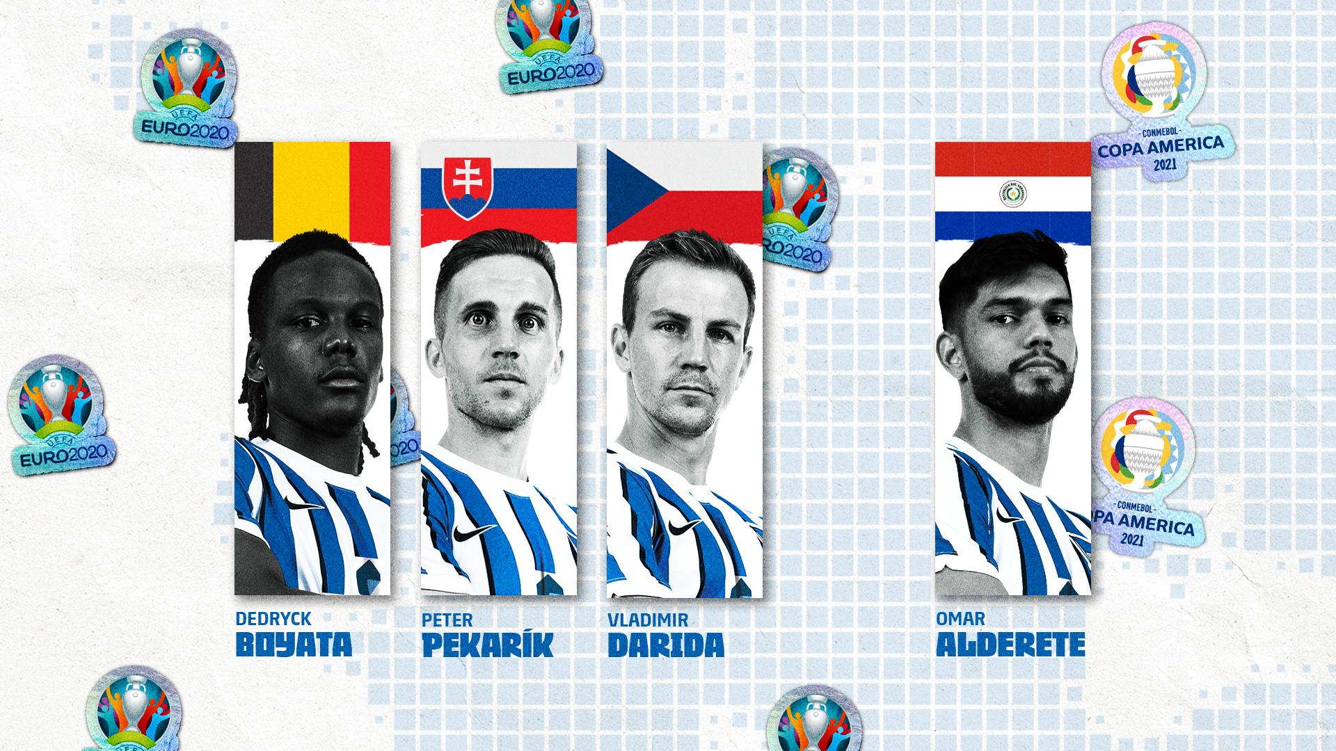 Boyata, Pekarík, Darida y Alderete participarán en la Eurocopa y la Copa América.