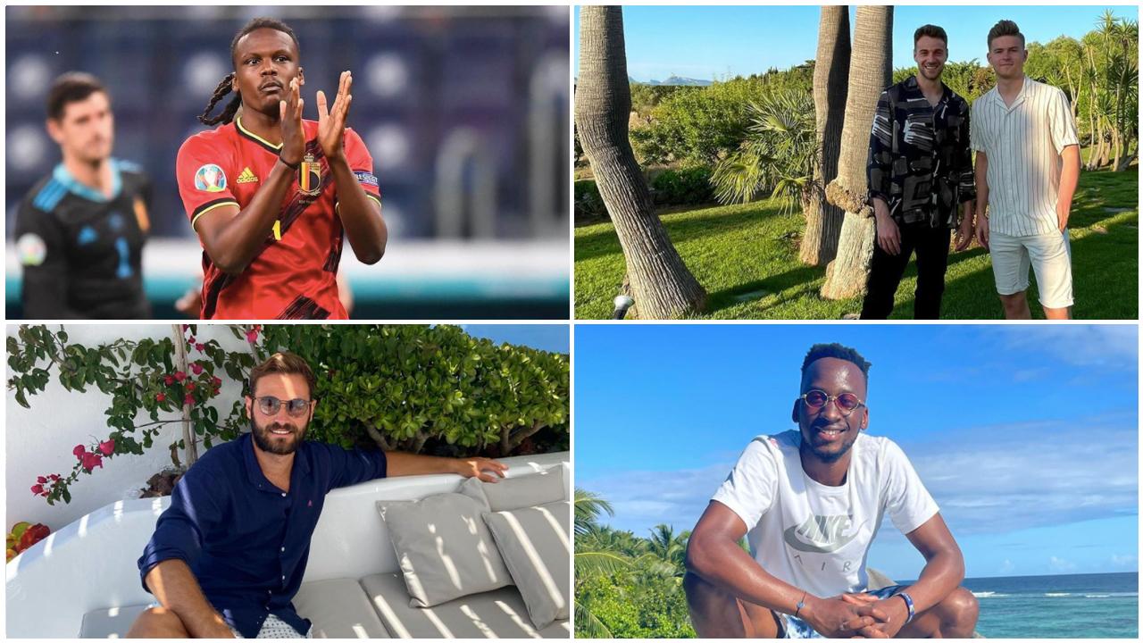 Dedryck Boyata spielt bei der Europameisterschaft, Lukas Klünter, Maximilian Mittelstädt, Lucas Tousart und Dodi Lukébakio genießen ihren Urlaub.