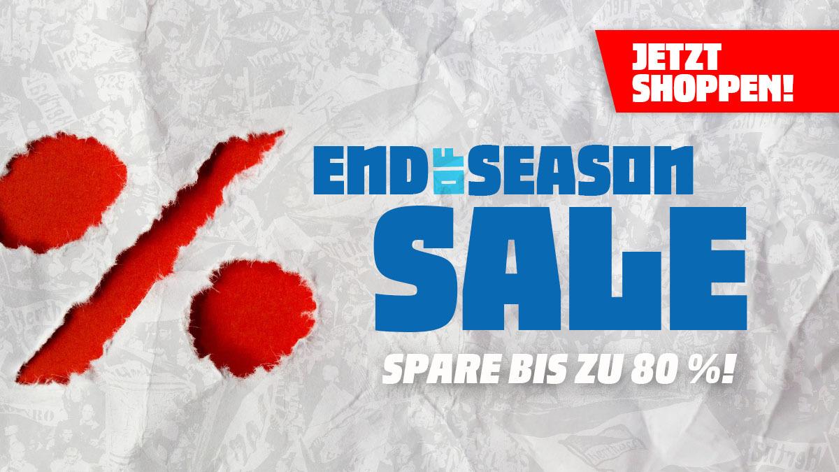 End of the Season Sale: Bis zu 80 Prozent Rabatt.