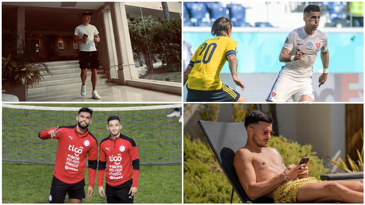 Luca Netz und Nemanja Radonjic genießen den Urlaub während Peter Pekarík und Omar Aldere mit der Nationalmannschaft unterwegs sind.