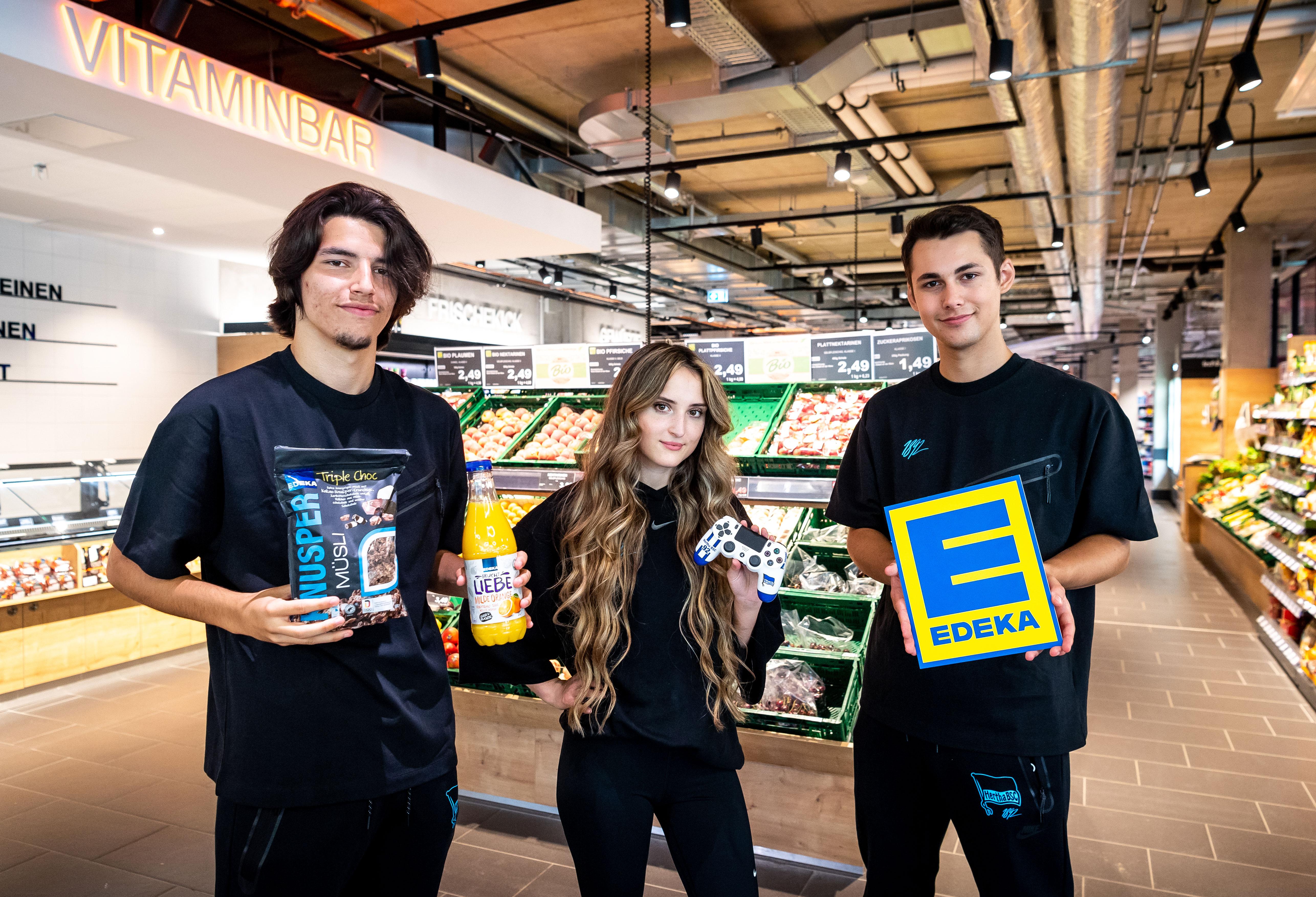 Unsere eSportler an der Vitaminbar