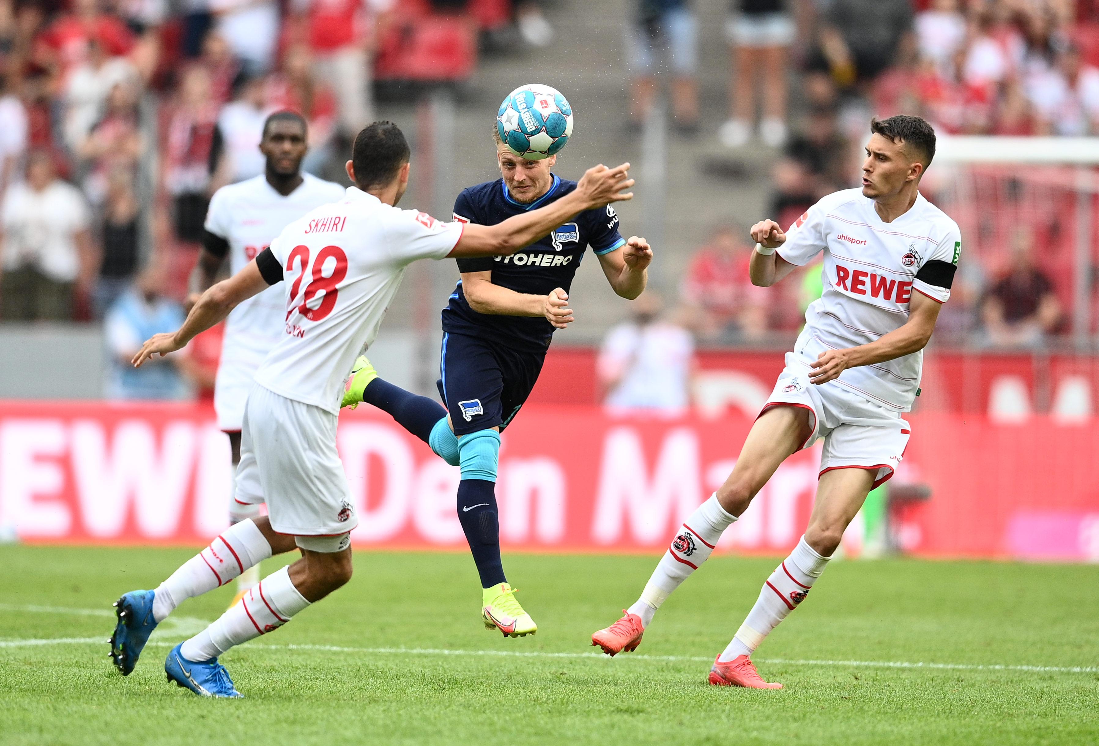 Santiago Ascacíbar en el 1.FC Köln-Hertha BSC